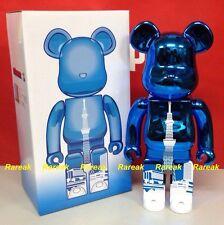 Medicom Be@rbrick Tokyo Skytree Town 400% Sky Tree Metallic Blue Tower Bearbrick