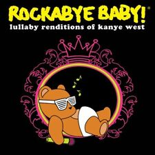 Rockabye Baby: Lullaby Renditions of Kanye West by Rockabye Baby CD Like NEW!