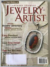 Lapidary Journal Jewelry Artist May 2008 Magazine Make Beautiful Artisan Pieces