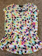 ATTENTION WOMENS SIZE M PULLOVER TOP MIXED COLORS SLEEVELESS BRAND NEW W/TAGS