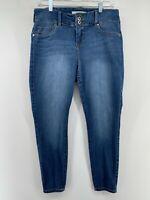 Torrid Denim Jegging Stretchy Skinny Medium Wash Blue Jeans Women's 14S