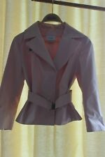 Akris punto ladies jacket 3/4 sleeves NWOT size 8, perfect condition pink