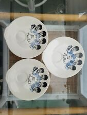 More details for 3 washington pottery beatles tea cup biscuit plate c 1964 green back stamp ex