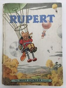 Rupert Bear Annual 1957 - Price Unclipped -