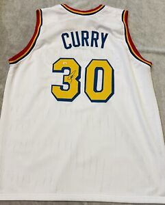 Steph Curry Autographed Signed Golden State Warriors Jersey COA