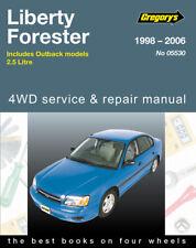 Subaru Liberty, Outback, Forester 1998-2006 Gregory's Repair Manual