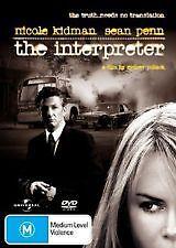 THE INTERPRETER - BRAND NEW & SEALED REG.4 DVD (NICOLE KIDMAN, SEAN PENN)