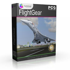 PRO Flight Simulator 2010 2013 2016 Real Flight Sim Game X Software