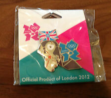 London 2012 Mascot Union Jack Olympic Pin