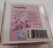 Micro fiber cleaning cloth To a Special Mom Mothers day smartphone glasses poem