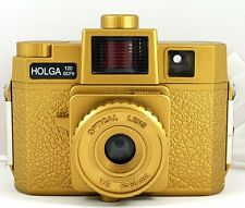 NEW Holga 120 Format GCFN 120GCFN  Film Camera Gold