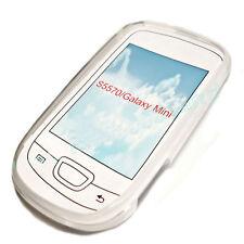 SILICONE TPU per cellulare Cover Case Guscio Guscio in acquamarina per Samsung s5570 Galaxy MINI