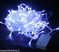 200 LED Fairy String Lights Christmas Wedding Tree Lighting Mood Light 20M WHITE