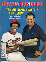 1977 7/18 Sports Illustrated baseball magazine, Rod Carew, Minnesota Twins