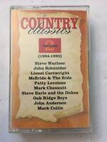 Country Classics Volume 2, Various Artist, Tape Cassette