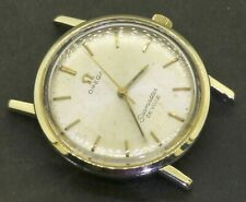 Omega Seamaster DeVille vintage Gold tone automatic men's watch