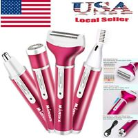 Women Electric Shaver Ladies Razor Wet Dry Rechargeable Hair Leg Removal NEW
