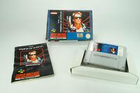Super Nintendo *The Terminator* SNES OVP mit Anleitung und Schutzhülle