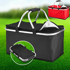 30L Extra Large Cooling  Cooler Cool Bag Box Picnic Camping Food Ice Drink Lunch