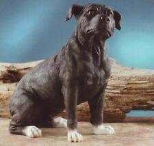Staffordshire Bull Terrier Dog Figurine. New!