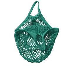Mesh Cotton String ECO SHOPPING Grocery Bag Reusable Fruit Storage Handbag Tote
