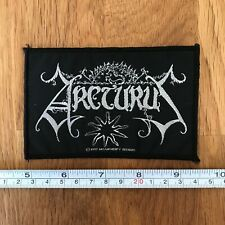 ARCTURUS Rare UK 1997 Woven Embroidered Sew On Patch