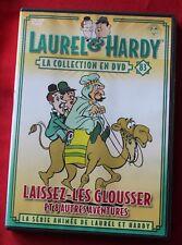 Laurel et Hardy, dessins animés - laissez les glousser + 8 episodes, DVD N° 83