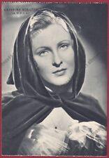 CATERINA BORATTO 03 ATTRICE ACTRESS CINEMA MOVIE Cartolina NON FOTOGRAFICA 1938