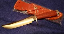 Blackjack Knives Model #3 Fighter Natural A-2 Tool Steel Fixed Blade Knife New