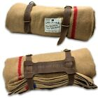 Lord+%26+Field+Wool+Blanket+Camping+Blanket+WITH++Leather+Straps