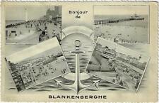 Bonjour de Blankenberghe Blankenberge 1953