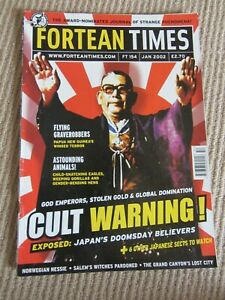 Fortean Times Magazine - FT154 - January 2002 - Cult Warning
