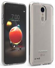 PureGear Clear Case Hard Cover for LG K30, Phoenix Plus, Premier Pro, Harmony 2