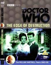 Doctor Who Edge of Destruction DVD NEW SEALED WITH EXTRAS WILLIAM HARTNELL UK R2