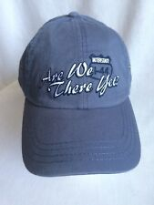 Men's Are We There Yet? Ball Cap Adjustable Blue Embroidered New Father's Day