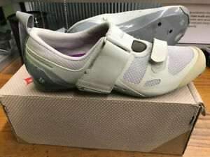 SPECIALIZED TRIVENT SC WOMEN'S TRIATHLON CYCLING SHOES SIZE 37/6.5 NEW