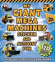 JCB Giant Sticker Book My Giant Mega Machines - Igloo Book... by Igloo Books Ltd