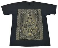 Vintage Obey World Police State Champs Black Tee Size L Mens T Shirt Propaganda