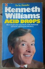 Acid Drops (Coronet Books) by Kenneth Williams (SIGNED), Paperback Book, 1981