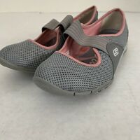SKECHERS Women's Mary Jane Pink gray  Shoes Size 6 Sneakers
