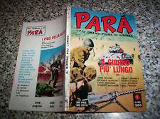 PARA' N.1 ed.PONZONI 1970 TIPO NERI DIABOLIK-GENIUS-KILLING-KIMBA-WAMPIR-ZATAN