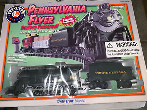 Lionel 7-11140 Pennsylvania Flyer G scale train set, Complete!! Works!