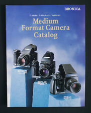 BRONICA MEDIUM FORMAT CATALOG BROCHURE