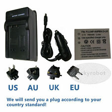 NP-40 NP40 Battery + Charger for FUJI FINEPIX F460 F470 F610 F700 F710 F810