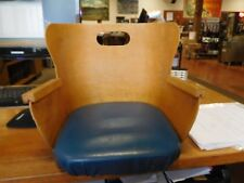 Vintage Bent Wood Children's Booster Seat by Shelby Williams Industries
