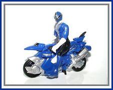 2011 Power Rangers Samurai _ Blue Samurai Mini Cycle with Blue Ranger
