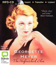 Georgette HEYER / The UNFINISHED CLUE        [ Audiobook ]