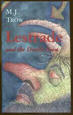 Lestrade and the Devil's Own by M. J. Trow-First Edition/DJ-2001