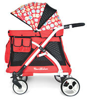 Wonderfold Wagon MJ01 Multi Function Pram Stroller Chariot Mini Red