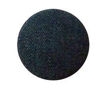 Ösenknopf 20 mm dunkelblau mit Jeansstoff bezogen